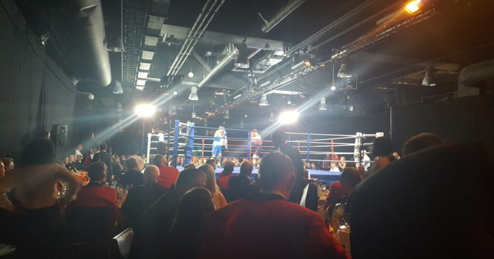 Sappers v Gunners boxing match at Stamford Bridge in aid of Felix Fund