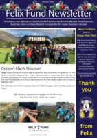 Front page of Winter 2019 newsletter