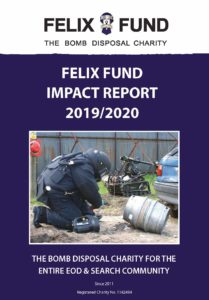 Front page of Impact Report 2019-2020
